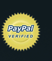 We Accept PayPal, Visa, Mater, American Express